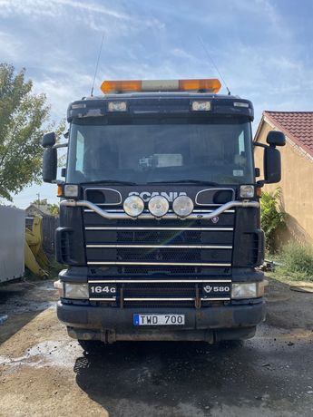 Scania r580 6x4 basculabila