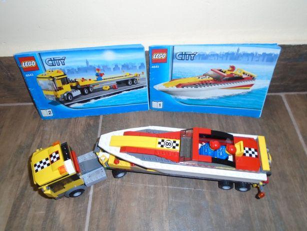 Lego City 4643 Transportator barca de viteza
