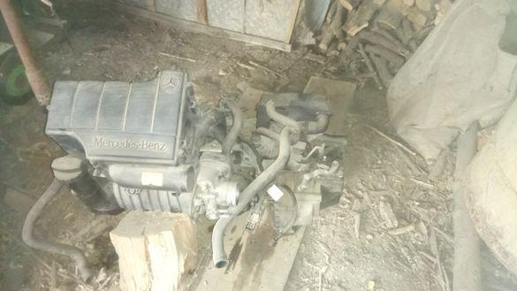Двигател със скорости за мерцедес А190 115коя бензин