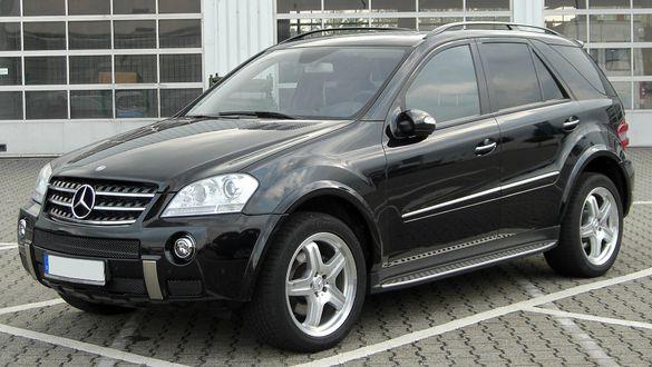 Алуминиеви степенки - Mercedes ML 2005-2011 (W164) ТОП НОВО !!!