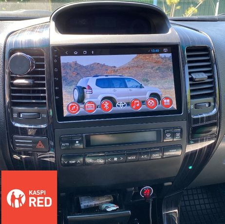 Автомагнитола Toyota Camry/Prado/Land Cruiser/Corolla Redpower/Teyes