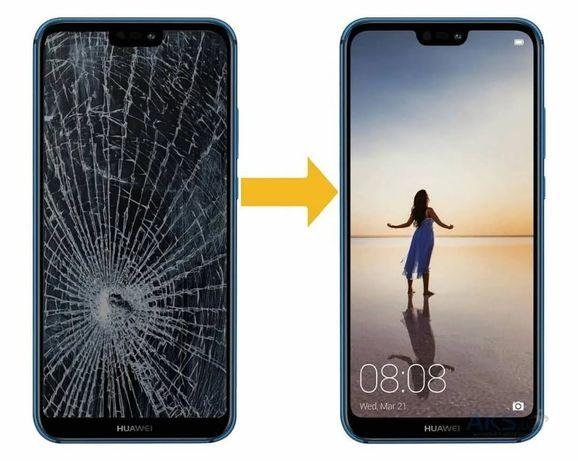 Замена стекла Ремонт Huawei Y5/Y6/Y7/Y9/Mate 10/20 lite 2018/2019