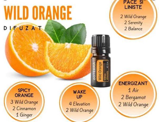 Wild Orange Doterra 15 ml sigilat
