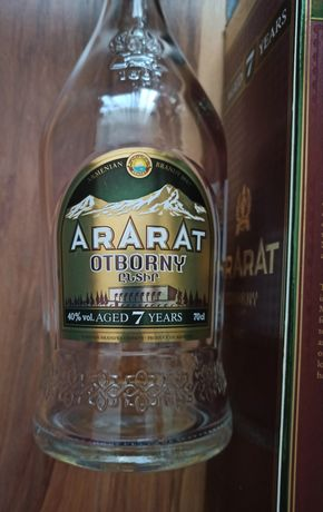 Празна бутилка от уиски Singleton,Dewars 12 years,ArArAt 7 years