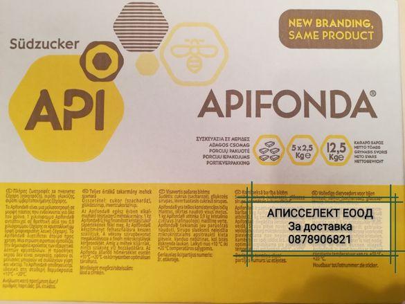 ПРОМОЦИЯ Храна за Пчели Апифонда Апи Фонда Apifonda - Германия 5х2,5к