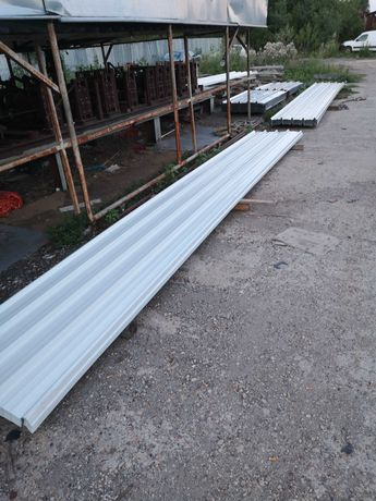 Покривна пвц-пластифицирана ламарина от 1м до 14м дължина 5.80лв.кв.м.