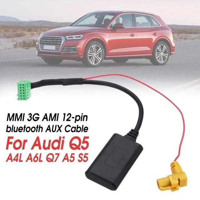 Cablu adaptor bluetooth auxiliar wireless MMI 3G Ami Audi
