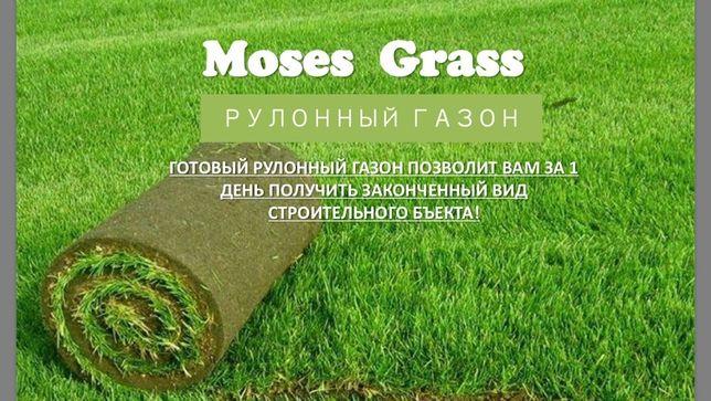 Рулонный газон, Дерн, Газон ОТГРУЖАЕМ ПО ЗВОНКУ!!!