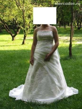 "Vand/ inchiriez Rochie Mireasa ""Salon Gala"", masura 42,okazie!!"