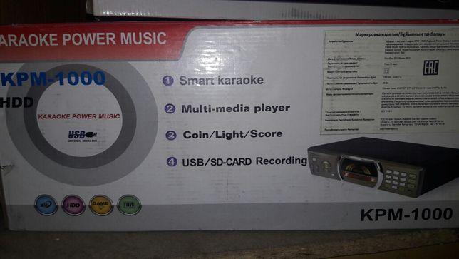 Поадам караоке апарат на 5000 песни с мнигами