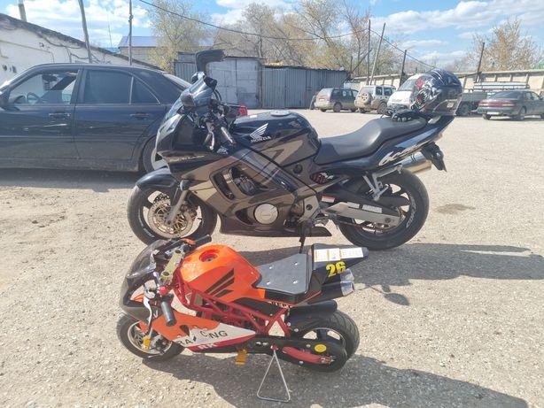 Минимотоцикл в стиле Ducati