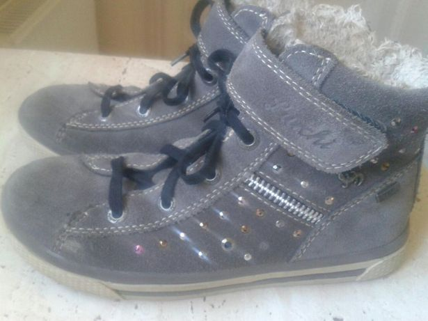 Pantofi pt. fete piele, - iarna nr.29