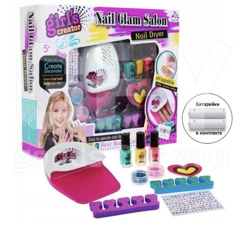 Игровой детский маникюрный набор для девочек