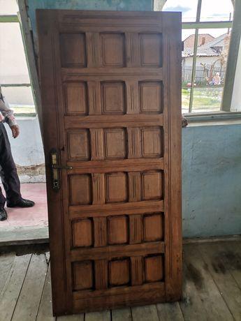 Ușa Stejar Masiv
