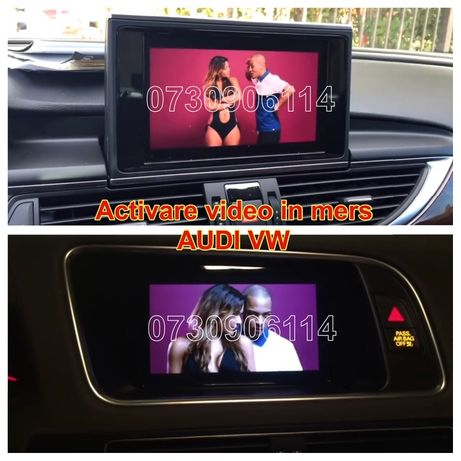 Optiune Navigatie Filme/Video In Motion Audi A4,A5,A6,A7,A8,Q5,Q7