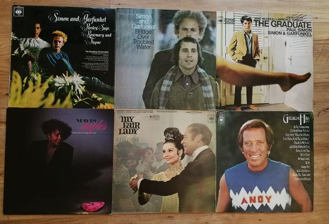 Vinil Dean Martin Paul Simon Art Gurfunkel Richard Clayderman vinyl