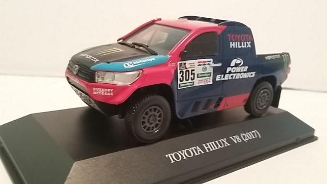 Macheta Toyota Hilux scara 1/43