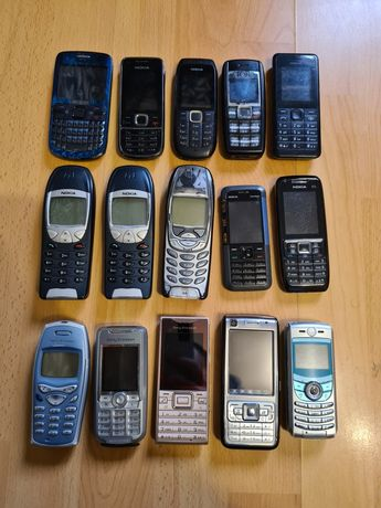 Telefoane mobile vechi colectie nokia 6310 ericsson t68