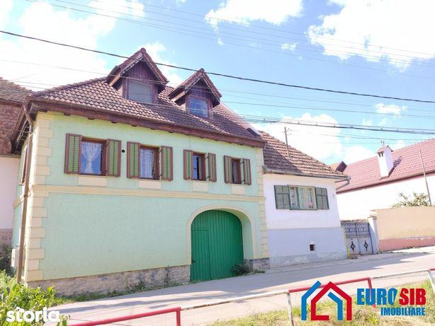 Casă complet amenajată în Cisnădioara jud Sibiu