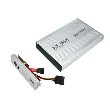 """Външна Кутия за харддиск 3.5"""" USB2.0 Digital One SP00100 SATA HDD CASE"""
