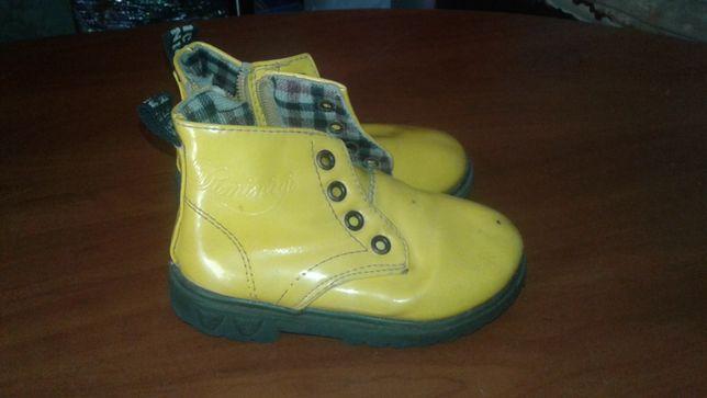 ботиночки осень весна