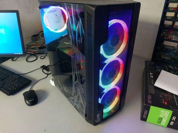 Геймърски компютър Ryzen 5 1600/ 16GB RAM, GTX 1060 500HDD Gaming