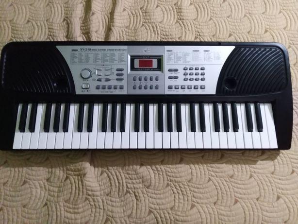 Orga electronica xy-218, 54 clape, intrare usb mp3 player , afisaj led