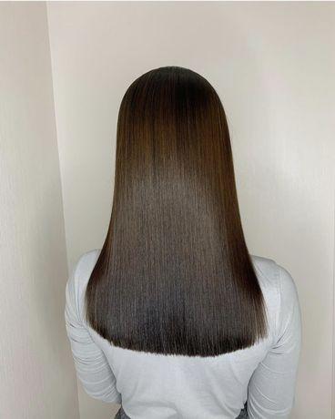 Акция на кератин + ботокс волос от 8000 мастер со стажем