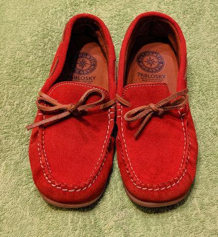 Mocasini pantofi vara copii piele mar. 34