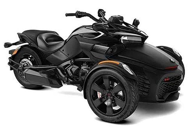 Can-Am Spyder F3-S Monolith Black Satin '21