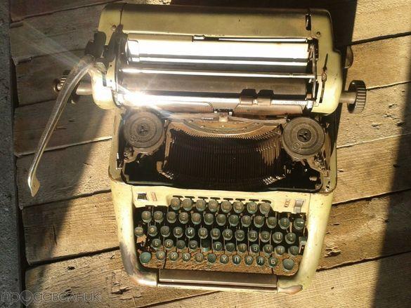 Пишеща машина от втората световна война!