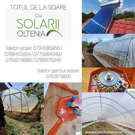 Solarii, panouri solare si accesorii pentru acestea