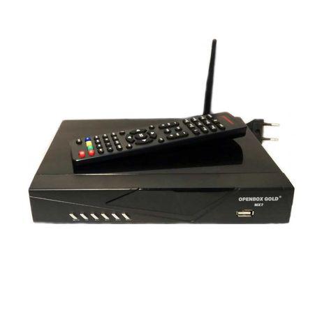 Openbox Gold MX7 - спутниковый HD ресивер,T2-MI, Wi-Fi, YouTube, IPTV