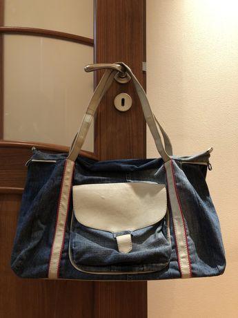Дънкова чанта