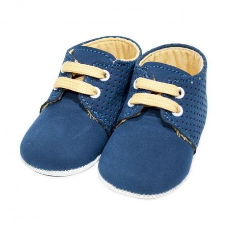Pantofi bebe botez | Pantofi casual | Pantofi bleumarin baieti botez