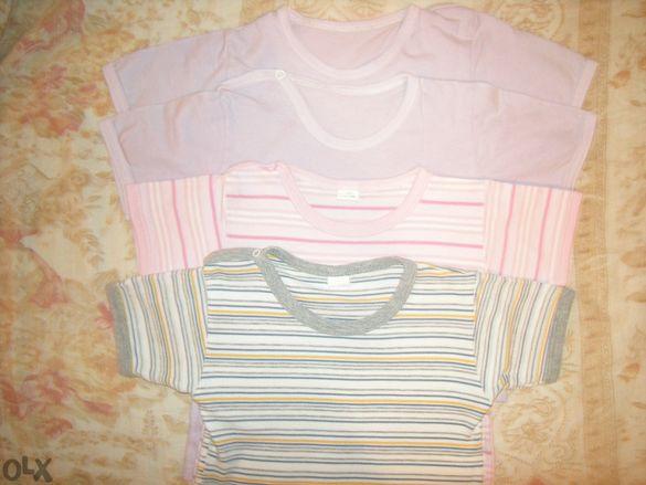 ДРЕХИ за момиченце на около 2 г. - тениски, долници, шапки, пижами