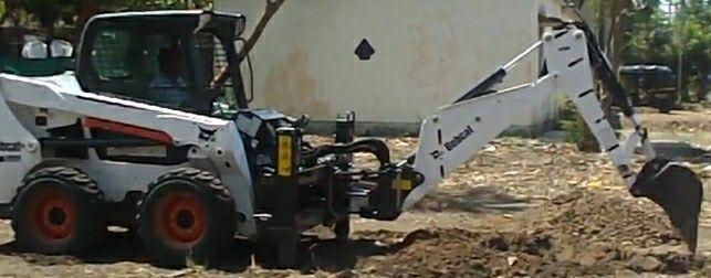 Обратная лопата Bobcat r30s