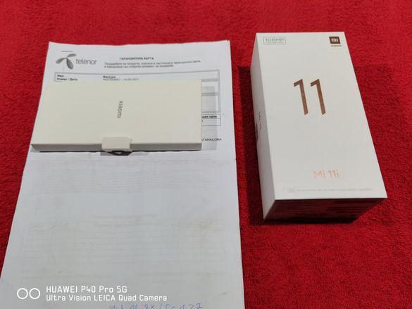 Xiaomi MI 11I 256GB Чисто нов 24м.гаранция от Теленор+Застраховка Отлю