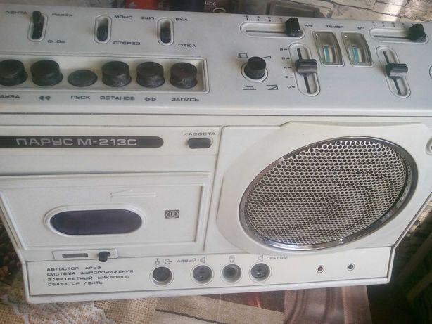 Магнитофон Парус м213с