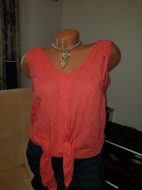 Camasa/ bluza legata culoare corai mar M
