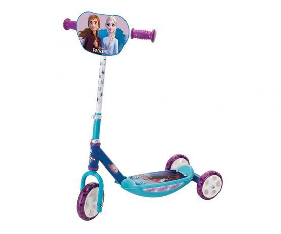 НОВА!!! Детска Тротинетка/Триколка с 3 колела - Smoby Frozen 2