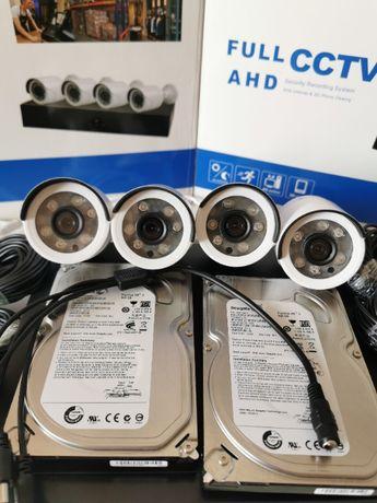 Sistem supraveghere 4Camere 3Mpx + HDD 500GB IR70M