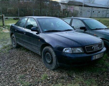 Audi A4 1.9tdi 110к.с. на части