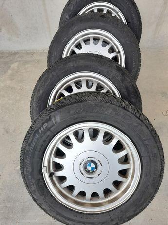 Jante BMW pe 16 cu anvelope de iarna