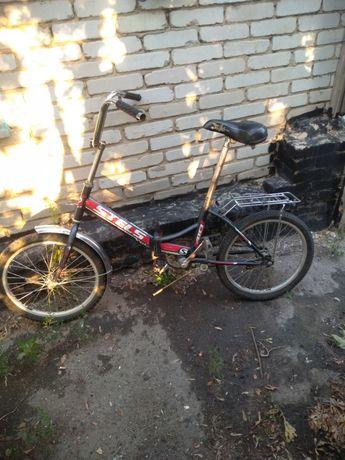 Продам велосипед stels, едит отлично колеса целые хорошо крутятся крут