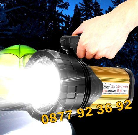 ПРОМОЦИЯ !!! LED НАЙ-МОЩНИЯ прожектор фенер влагоустойчив, АТ-398 DAT