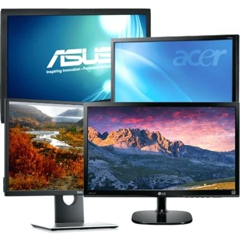 "Monitoare LED/LCD 24"" Dell, Hp, Samsung, Top Brand A-"
