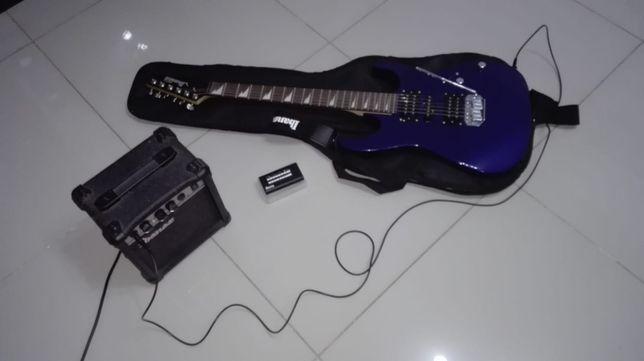 Chitara electrica Ibanez cu amp