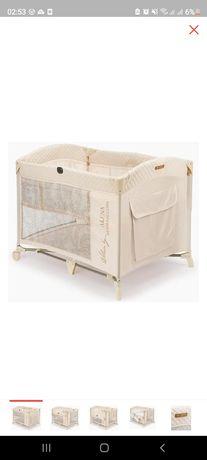 Продам манеж-кровать и матрас для него Happy baby
