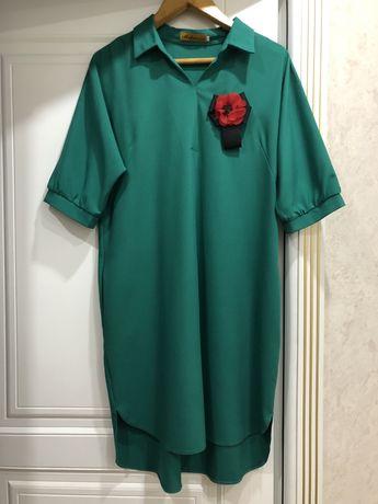 Продам платье-рубашку 52 размер